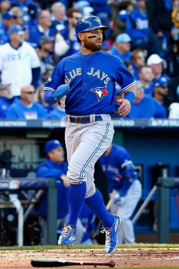 Kevin Pillar, TOR///Game 2 ALCS at KC,Oct 17,2015