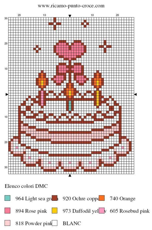 schema punto croce torta 002
