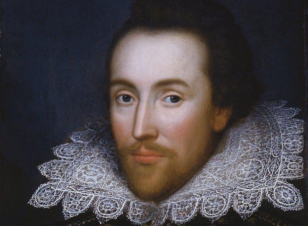 Shakespeare in lacy ruff