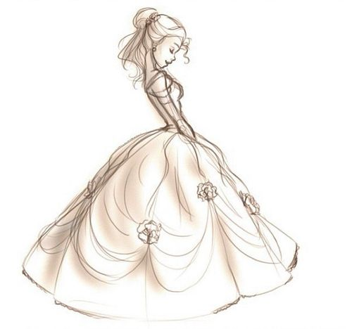Pencil Belle - Beauty and the Beast