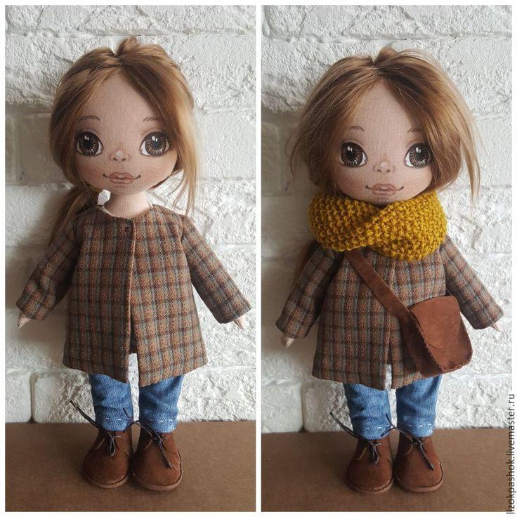 Шьем для куклы пальто со складкой на спинке - Ярмарка Мастеров - ручная работа, handmade