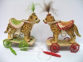 Pullalong Toy Kit - Cheetah £20
