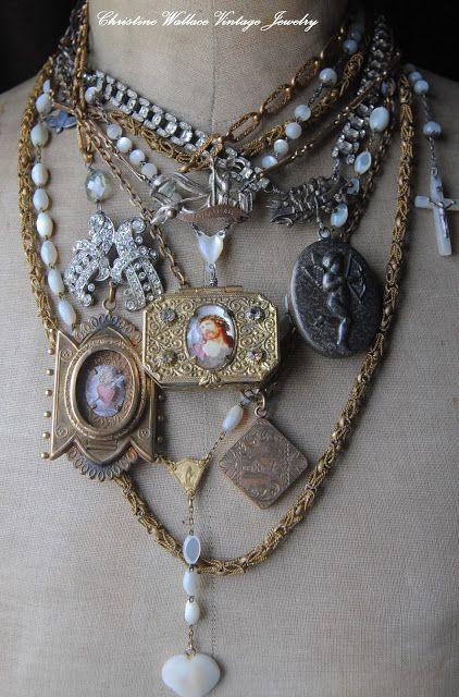 "Christine Wallace... ""Honoring Life Through Jewelry"": Lockets, Lockets, Lockets...."