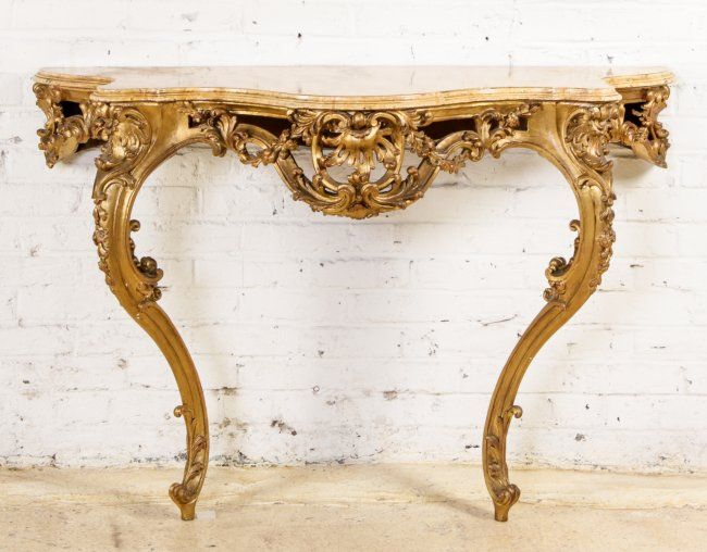 baroque console table vintage pinterest to be baroque and overlays. Black Bedroom Furniture Sets. Home Design Ideas