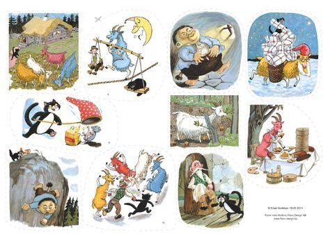 En härlig, lättberättad rimsaga som är omtyckt av alla barnen! En lättläst barnbok av Einar Norelius, innehåller rim och färg, nu som flanosaga!