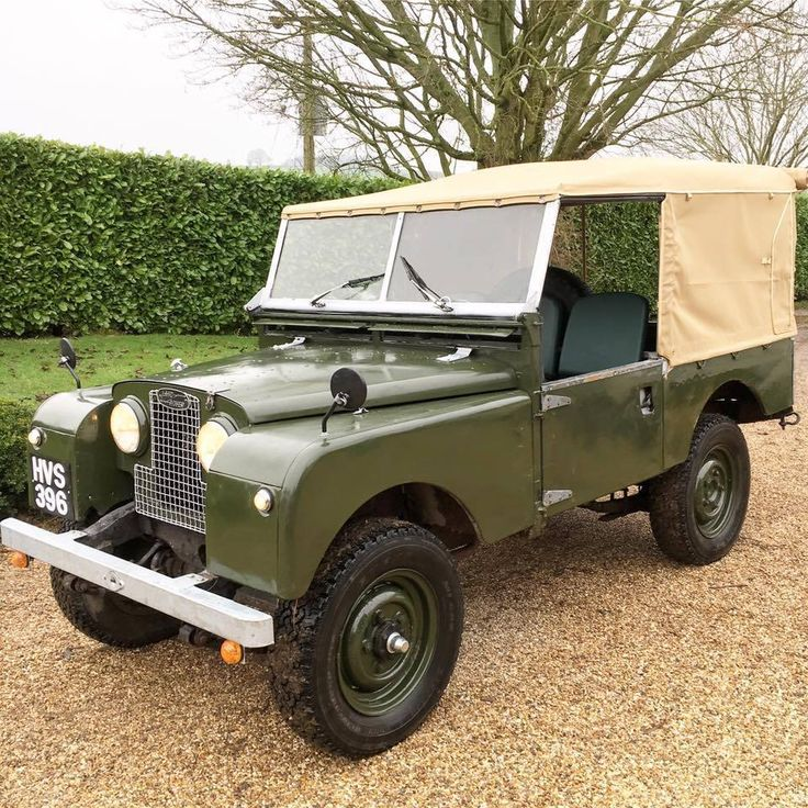 1796 Best Cool Landrover Series 1 Images On Pinterest