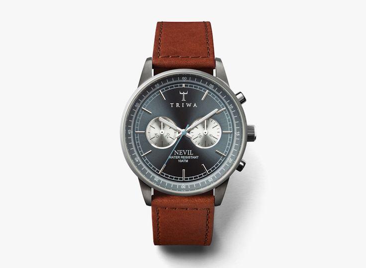 Náramkové pánské hodinky Triwa Ash Nevil / Men's watches Triwa Ash Nevil  #triwa #watches #men #analogue #hodinky #panske  http://www.urbag.cz/hodinky-triwa-panske-damske-kolekce-podzim-zima-2014/