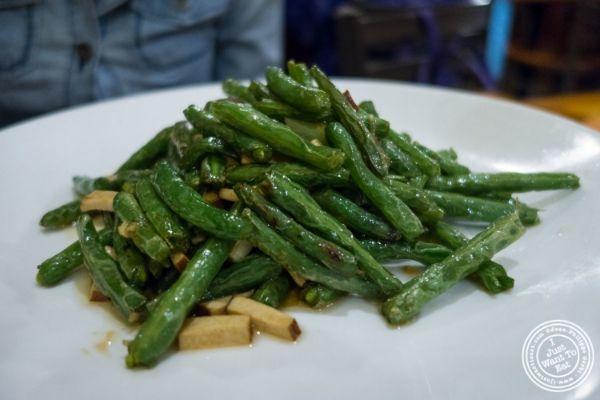 string beans atPad Thai, Thai restaurant in NYC, New York