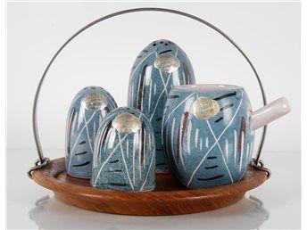 Kryddset i porslin - Hällinge Keramik - 1900-tal