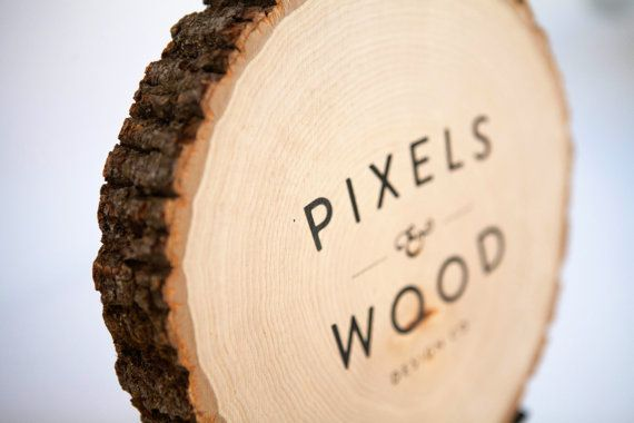 Personalized Rustic Wood Sign by pixelsandwood, $45.00