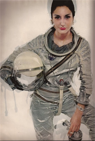 Inspiration for near-future space suits. Practicality is a necessity, but it won't be fun without some sexy upgrades.