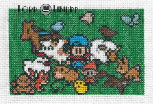 When you have too many farm animals to fit in a photo #harvestmoon #crossstitch @lordlibidan  https://lordlibidan.com/harvest-moon-family-cross-stitch/pic.twitter.com/u9hucFCkTQ