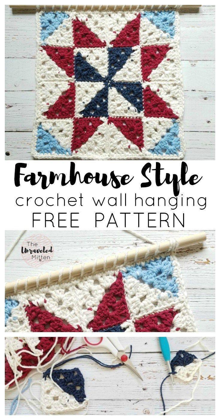Mejores 86 imágenes de Crochet Home en Pinterest   Agujas de ...