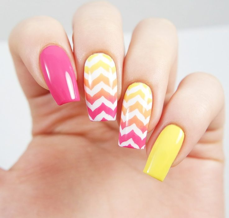 A twist on the classic chevron look - use Marbled Nail Stencils and Vinyls to create a cute and unique manicure! Insides included with each Marbled nail vinyl. Video Created and Provided by SprinkleNa