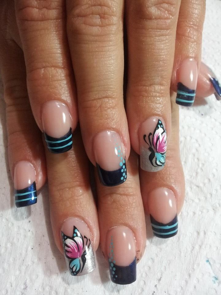Best 25+ Diseños De Uñas Mariposas Ideas On Pinterest