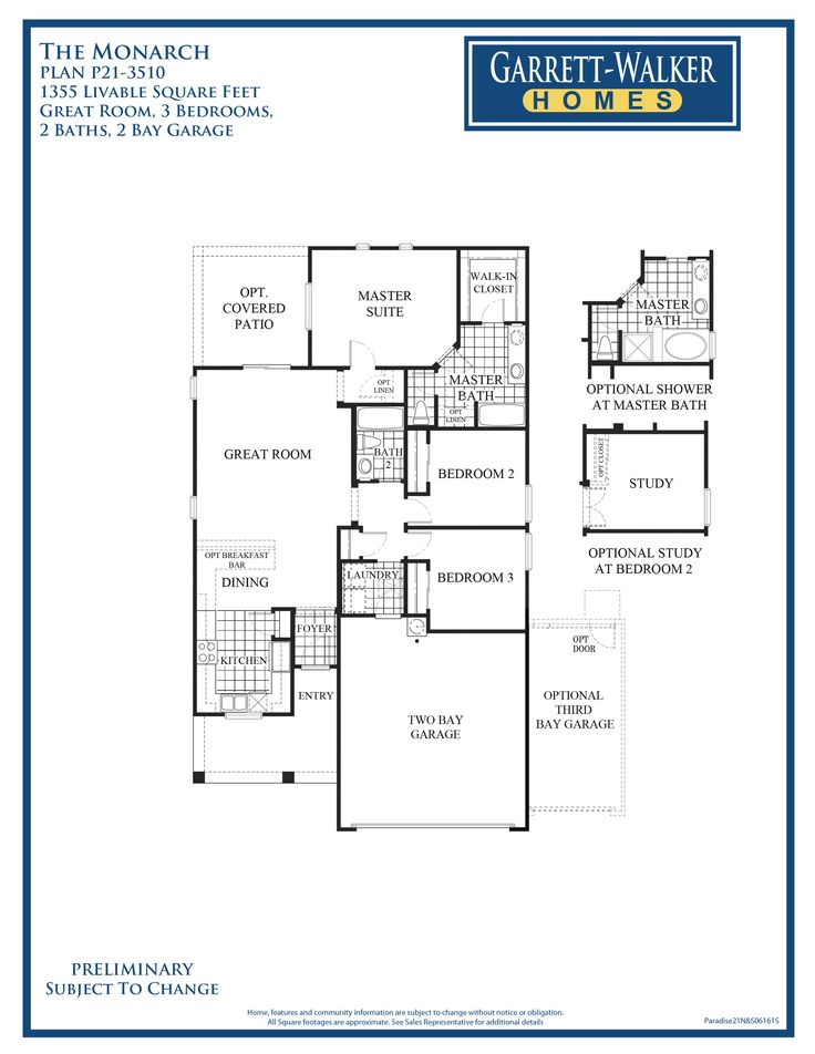16 best images about floor plans on pinterest home the Monarch homes floor plans