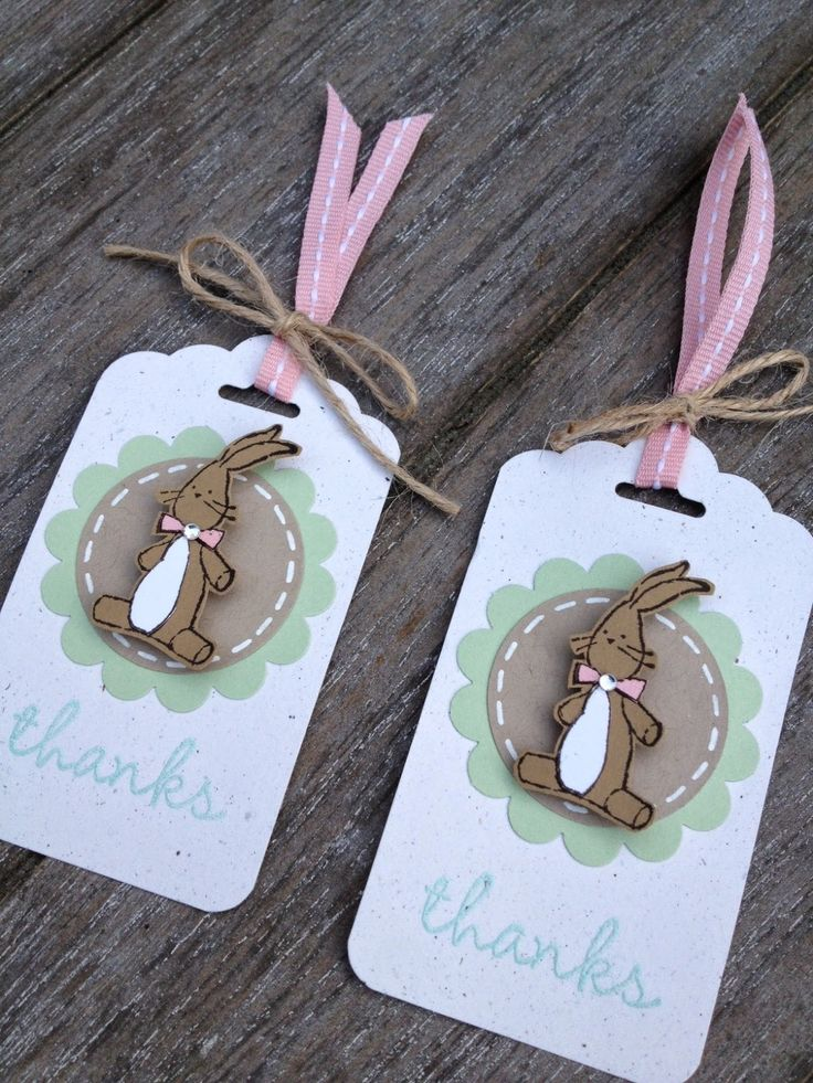 325 best stamped gift tags images on pinterest christmas cards stampin up baby weve grown tags scalloped tag topper punch negle Image collections