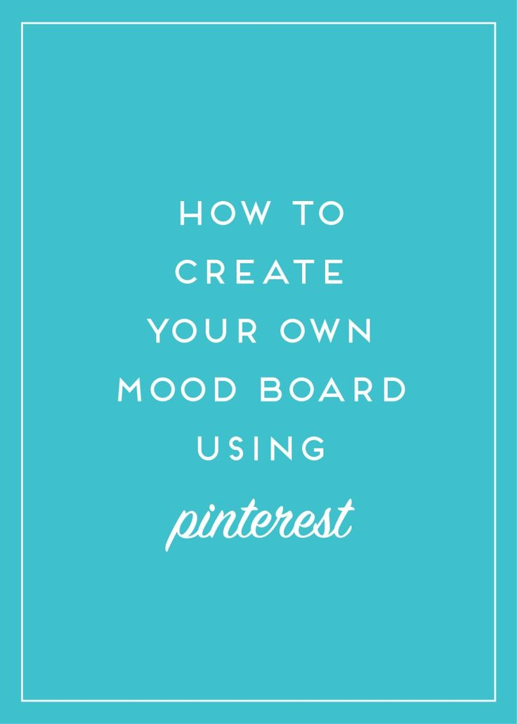 Laura James Studio walks you through creating your own mood board and gathering inspiration images from sources such as Pinterest, and how to organize them.