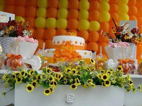 Festa Amarela e Coral