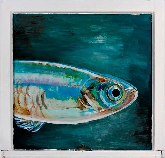 13 best reverse glass paintings images on pinterest for Painted glass fish