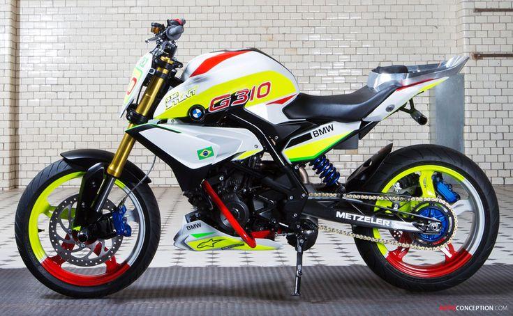BMW Unveils New Stunt Bike Concept