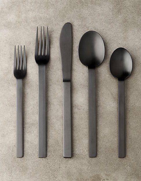 Marvelous 20 Piece Kat Matte Black Flatware Set. Kitchen DesignsKitchen IdeasKitchen  ...