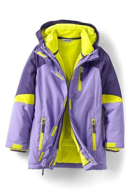 5e736b2c5 eBay #Sponsored Lands End 10/12 Girl Winter Parka System 3-in-1 Coat Stormer  Purple/Lavender New