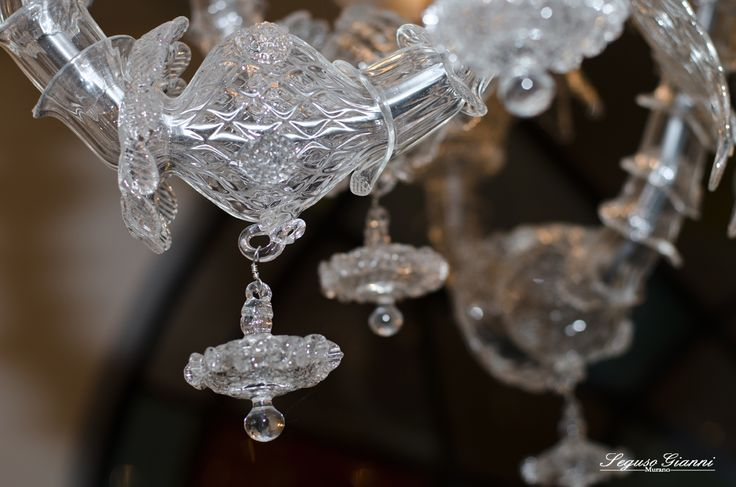 Detail of a chandelier! by Seguso Gianni