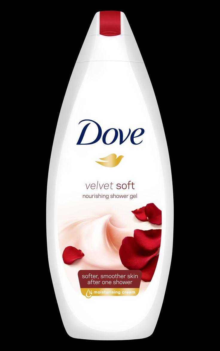 Dove Velvet Soft shower gel