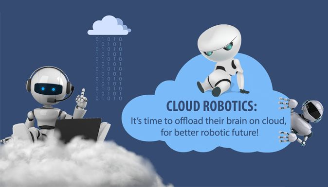 Cloud Robotics: It's time to offload their brain on #Cloud, for better Robotic future!  #CloudRobotics has a real thought provoking potential that inspires the mind on what it does and what it can do in #future. Read more!