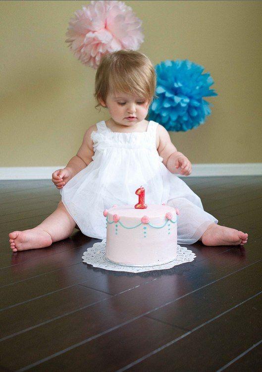 First Birthday Party Smash Cake