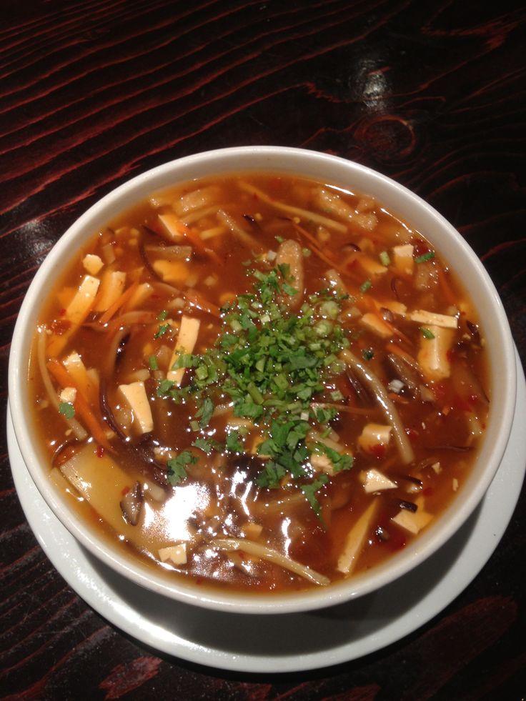 Vegan Hot And Sour Soup Recipe — Dishmaps
