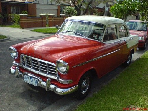 1959 Holden FC Special Sedan, Made in Australia by General Motors Holden. v@e