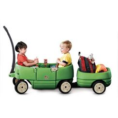 Step 2 Wagon For Two Plus And Tag-Along Trailer