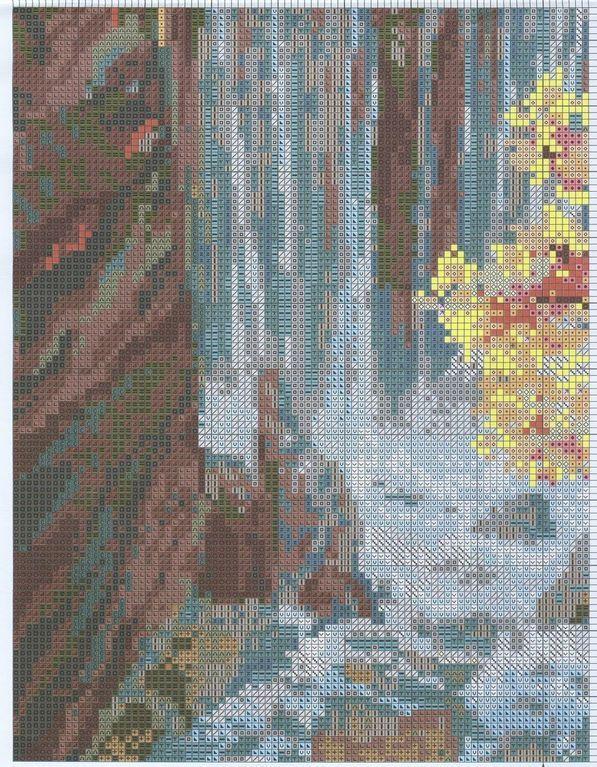 Sandrinha Ponto Cruz: Paisagem (Cachoeira)