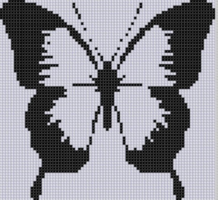 (10) Name: 'Embroidery : Butterfly 22 Cross Stitch Pattern