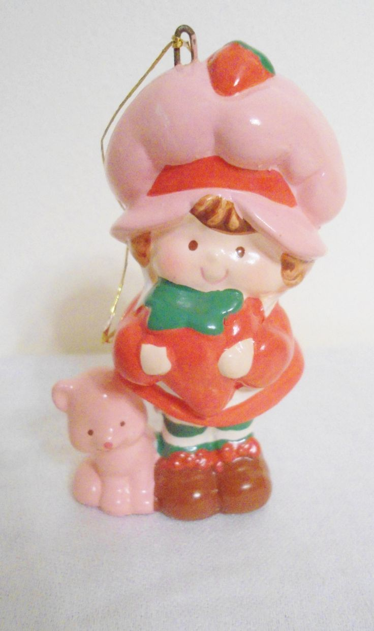 On Vintage Strawberry Shortcakevintage  Christmaschristmas Ornament