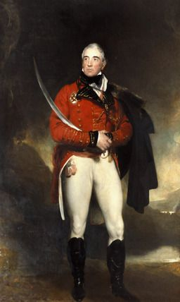 Thomas Graham, 1st Baron Lynedoch, by Lawrence. This painting is currently in Apsley House.