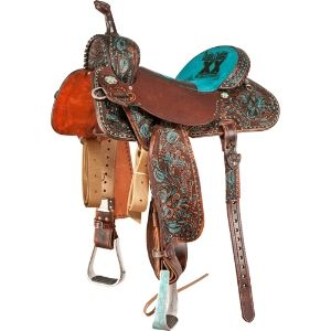 Double J Brittany Pozzi Barrel Racing Saddle... I will be needing a