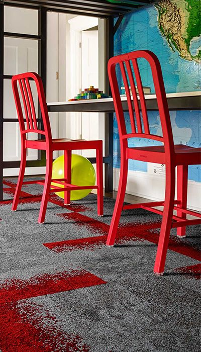 Let your kids playroom be inspired by the outdoors with our Urban Nature style in Stone & Persimmon!