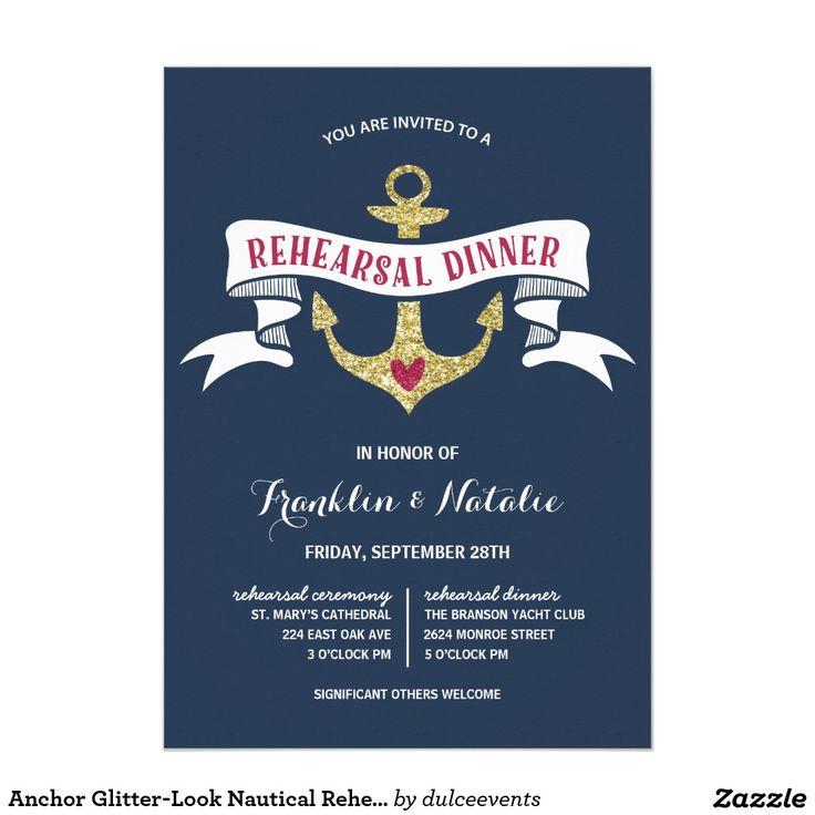 15 best Nautical rehearsal dinner images on Pinterest Rehearsal