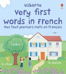 Very first words in French  Lively and bright picture wordbook with colourful scenes illustrating over 100 familiar words. Scenes show favourite topics such as toys, animals, vehicles and parts of the body, and each object is labelled with its name in French. Illustrated with photographs of Jo Litchfield's delightful handmade models.