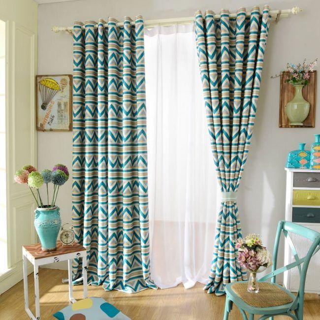 Te mostramos 20 modelos de cortinas, elaboradas en tela, con materiales reciclados, para lograr una decoración barata y bonita con muy poco dinero.