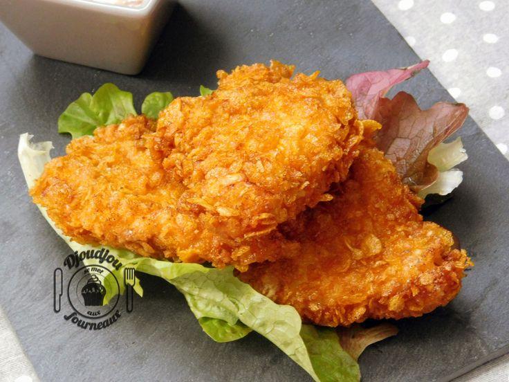 Bonsoir à tous :) Bon, avant tout, je dois vous avouer que je n'ai jamais goûté au poulet du KFC :p Mais, d'après les commentaires laissés surla recette originale, c'est exactem…