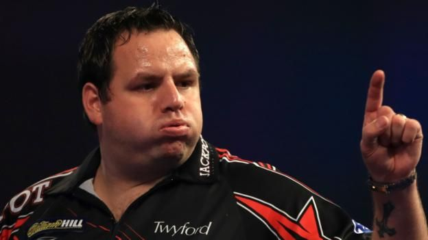 PDC World Darts Championship: Adrian Lewis beats Magnus Caris to reach second round #world #darts #championship #adrian #lewis #beats…