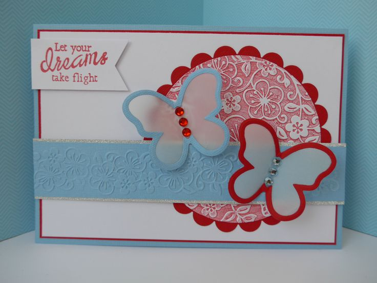 Card made for Papercraft Essential commission using the free gift.