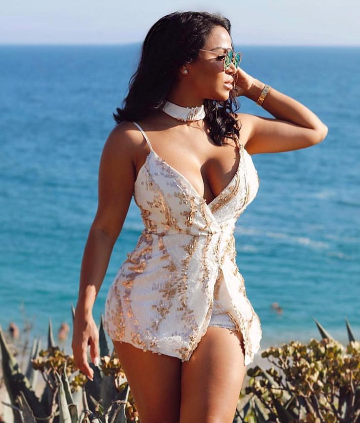 """3,198 Likes, 9 Comments - Chic Couture Online® (@chiccoutureonline) on Instagram: """"Our babe @missdollycastro is back and looks as beautiful as ever in our CARLA romper.…"""""""
