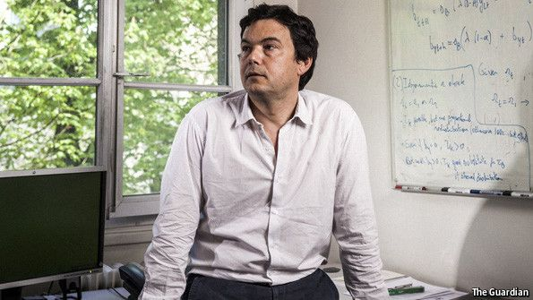 "The Economist explains: Thomas Piketty's ""Capital"", summarised in four paragraphs 