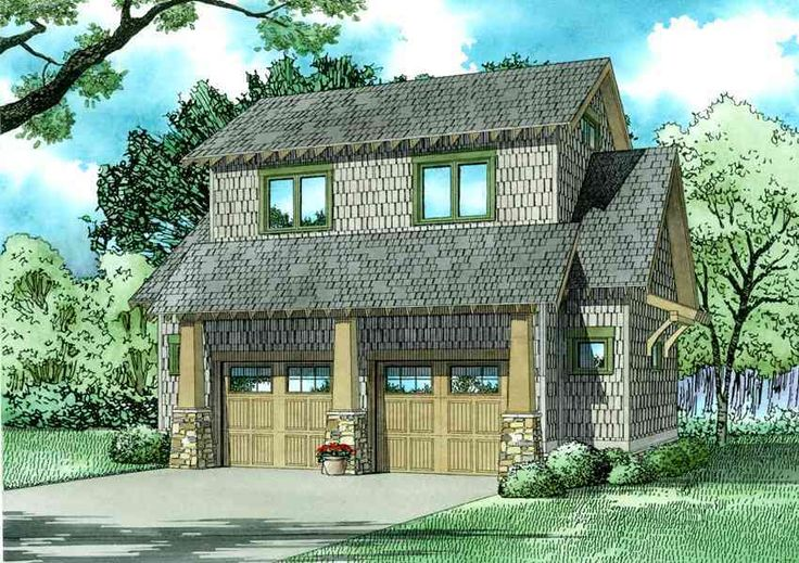 Rustic Carriage House Plan with Loft - 60662ND | 2nd Floor Master Suite, CAD Available, Carriage, PDF | Architectural Designs