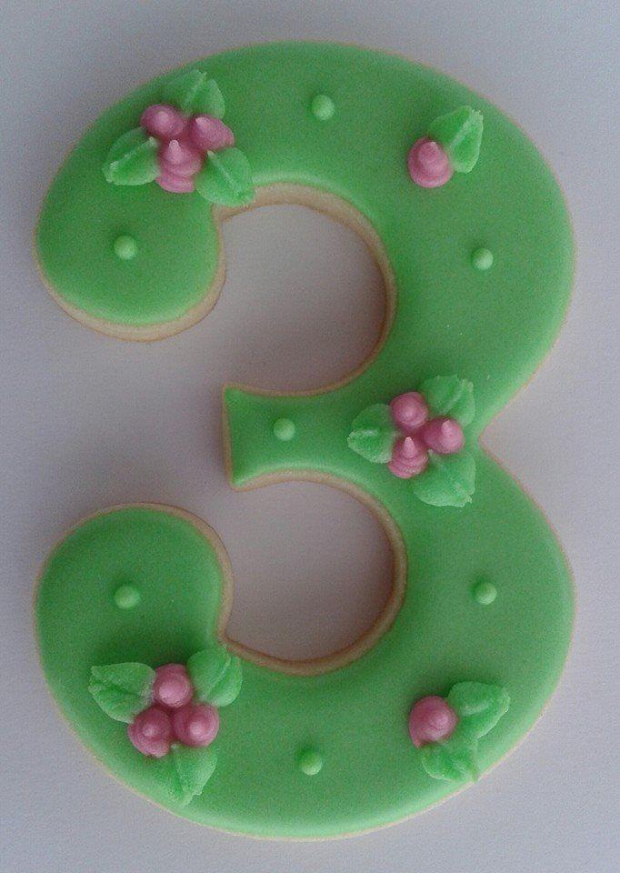 Número en Verde